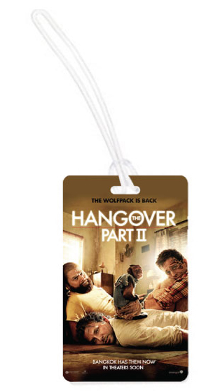 Identificador de equipaje The Hangover II