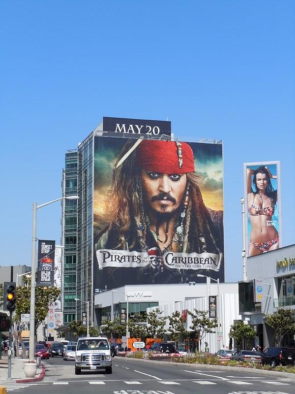 Piratas del Caribe afiche Vía Pública USA