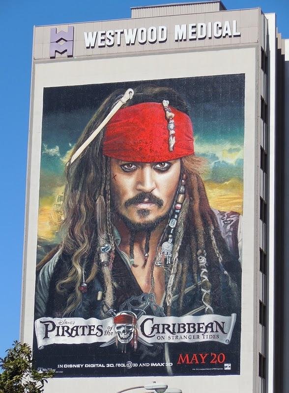 Jack Sparrow Afiche para Piratas del Caribe 4
