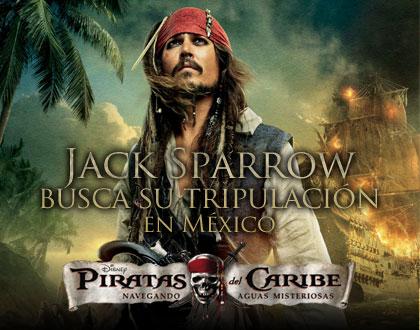 Tripulación Jack Sparrow MX
