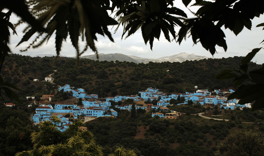 El primer pueblo Pitufo