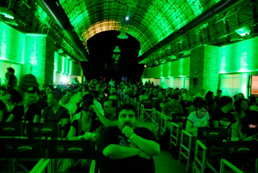 Estación de Chamartín ambientada para ver Alien