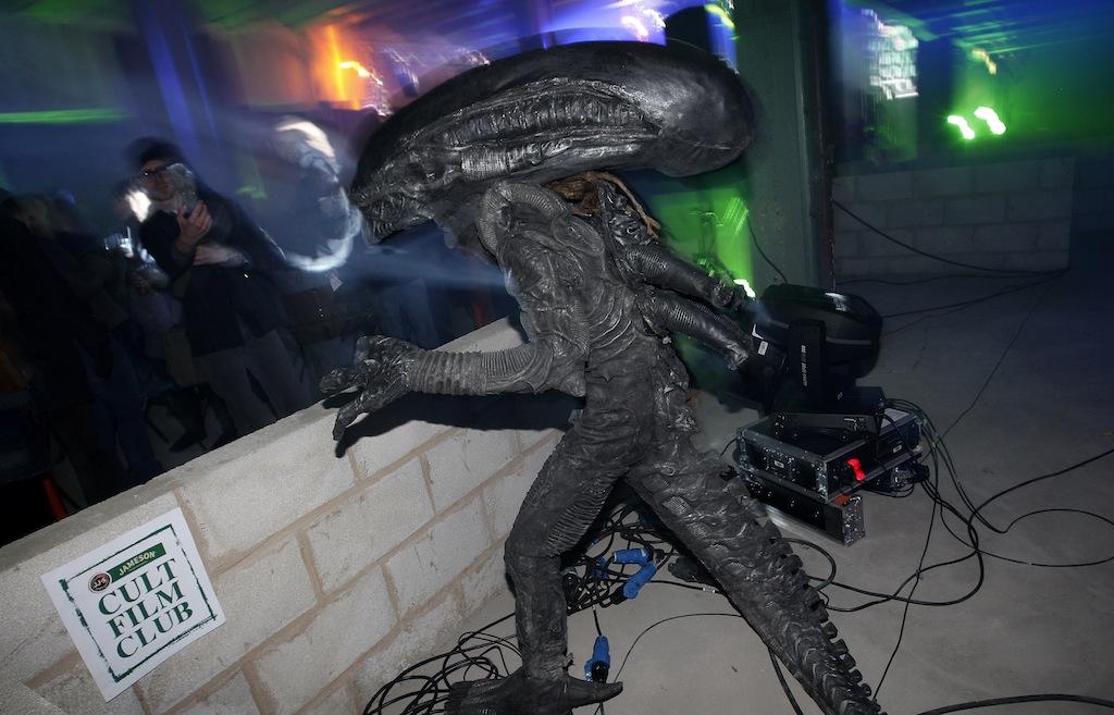 Jameson Cult Film Club Aliens by marvel.cat