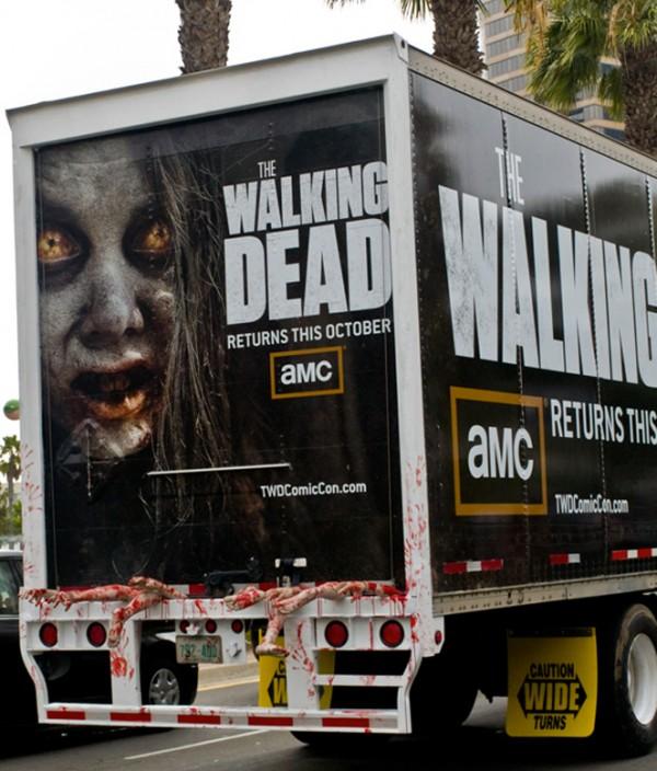 Walking-dead-comic-con-2011 camión de zombies