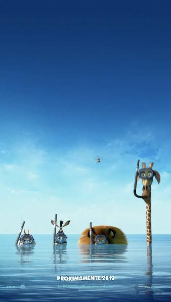 Madagascar 3 Poster animado