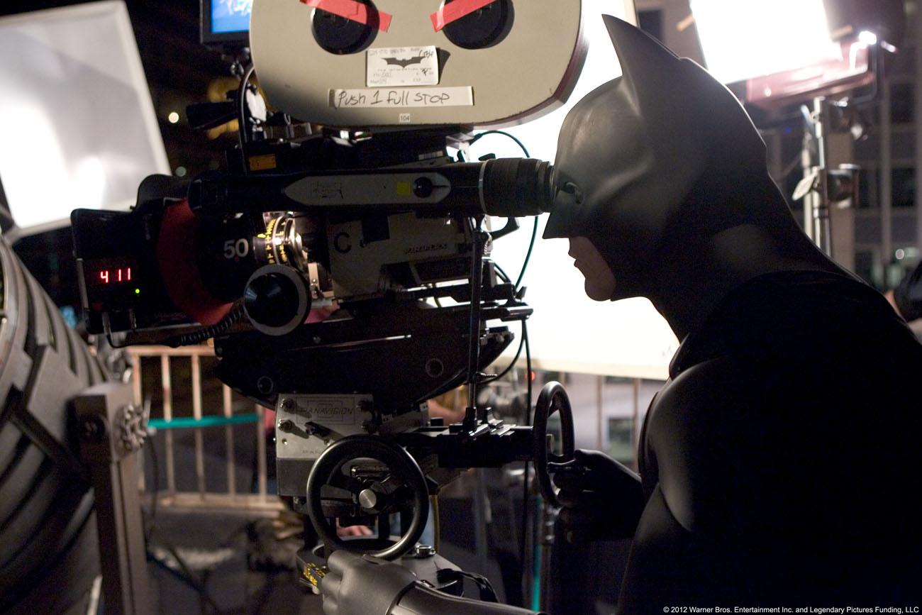Batman Begins: Batman detrás de cámara