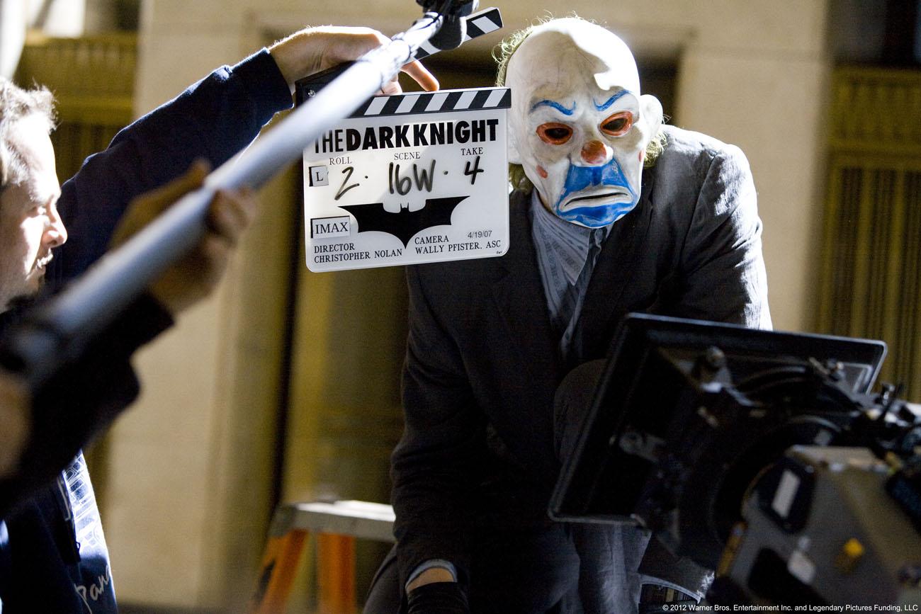 The Dark Knight : detrás de cámaras