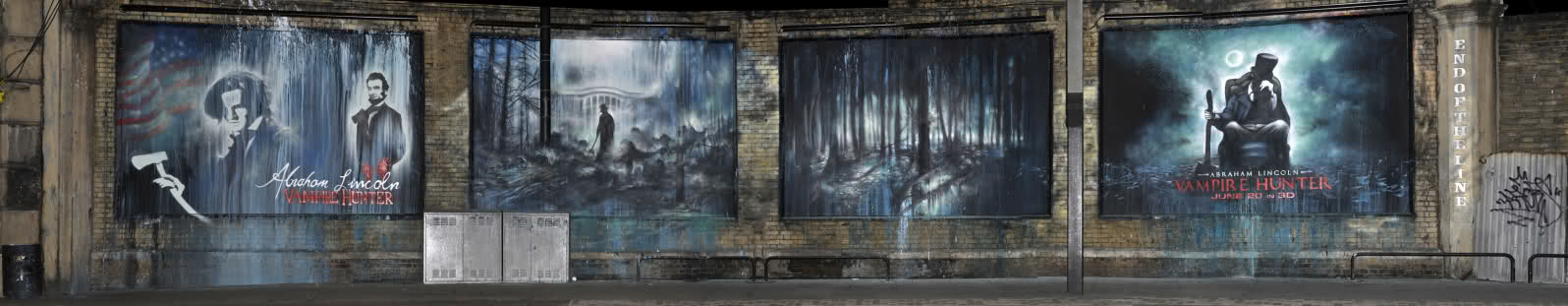 Mural Ganador en Abraham Lincoln Vampire Hunter: Fresh Blood Hunt