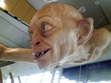the hobbit gollum gigante