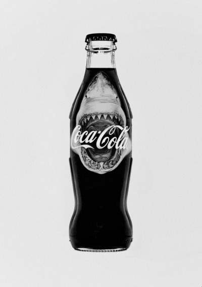 Botella de Coca Cola - TIburon 1975